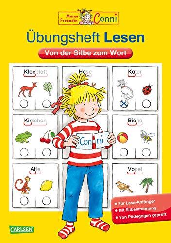 9783551186577: Conni Gelbe Reihe: Übungsheft Lesen: Von der Silbe zum Wort