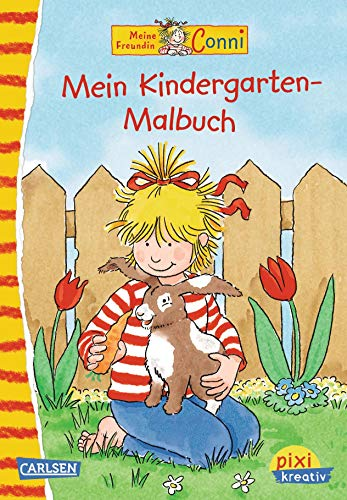 Pixi kreativ Nr. 5: Conni: Kindergarten-Malbuch