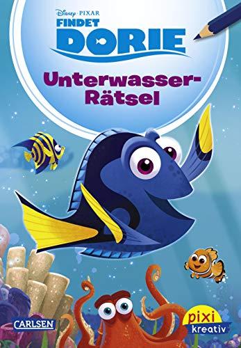 Disney: Findet Dorie: Unterwasserrätsel (Pixi kreativ, Band: Walt Disney