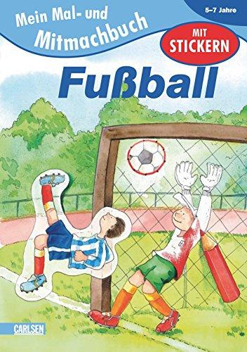 9783551215055: EMiL Mal- und Mitmachbuch 05. Fu�ball