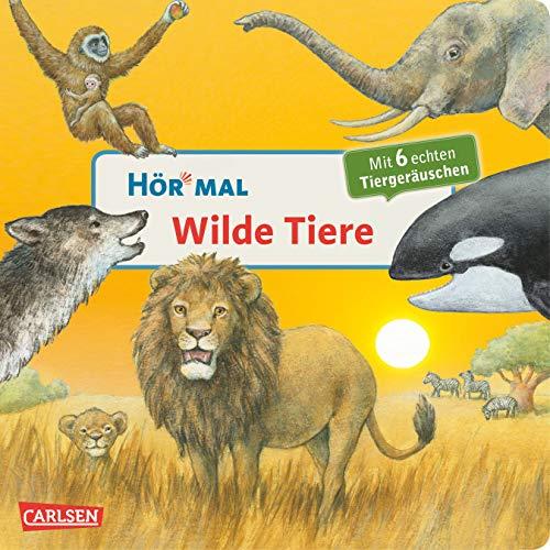 9783551250094: Hör mal - Wilde Tiere