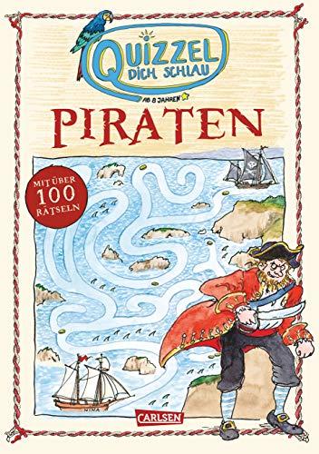 Quizzel dich schlau: Piraten (Paperback): Nikki Busch, Imke