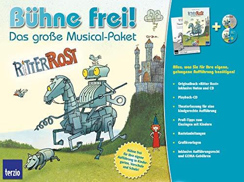 Bühne frei! Das große Musical-Paket 'Ritter Rost', m. 2 Audio-CDs: Jörg ...