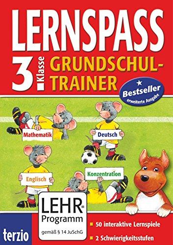 9783551270368: LERNSPASS Grundschul-Trainer 3. Klasse. Für Windows Vista; XP; ME und Mac