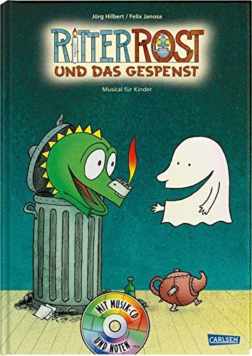 9783551270481: Ritter Rost und das Gespenst. Buch und CD