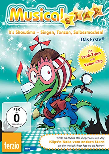 9783551270924: Ritter Rost: Musical-Star: Käpt'n Koks vom andern Stern: Audio-CD