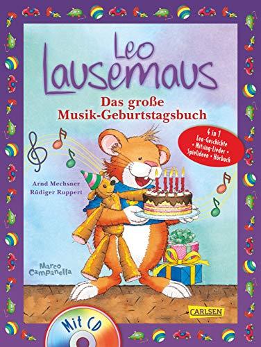 9783551271099: Leo Lausemaus: Das große Musik-Geburtstagsbuch