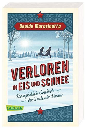 Verloren in Eis und Schnee : Die unglaubliche Geschichte der Geschwister Danilow - Davide Morosinotto