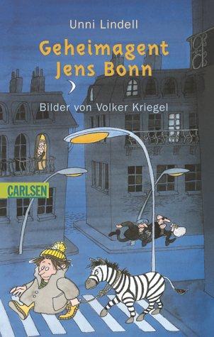 Geheimagent Jens Bonn ; Bilder von Volker: Lindell,Unni