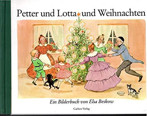 Kinderbücher Weihnachten.Petter Und Lotta Und Weihnachten Ein