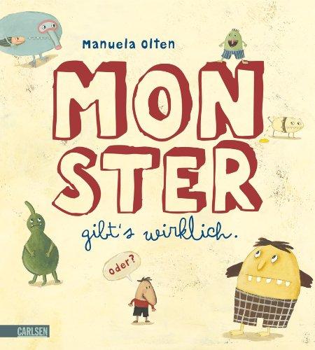 9783551517371: Monster gibt's wirklich. Oder?