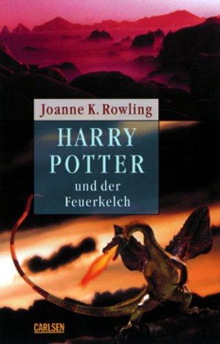 9783551552532: Harry Potter 4 und der Feuerkelch. Ausgabe für Erwachsene.