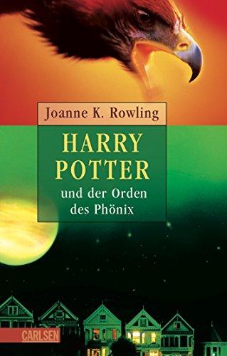 9783551552976: Harry Potter 5 und der Orden des Phönix. Ausgabe für Erwachsene.