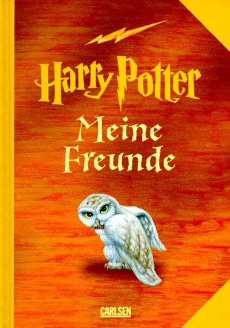 9783551553089: Harry Potter. Meine Freunde. Ausgabe orange. Erinnerungsalbum.