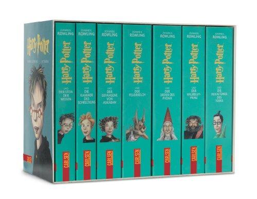 9783551553492: Harry Potter: in 7 Bänden (Harry Potter, #1-7)