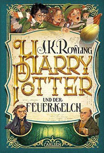 9783551557445: Harry Potter 4 und der Feuerkelch