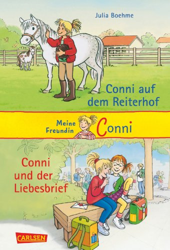 9783551558114: Conni Doppelb�nde, Band 1: Conni auf dem Reiterhof / Conni und der Liebesbrief