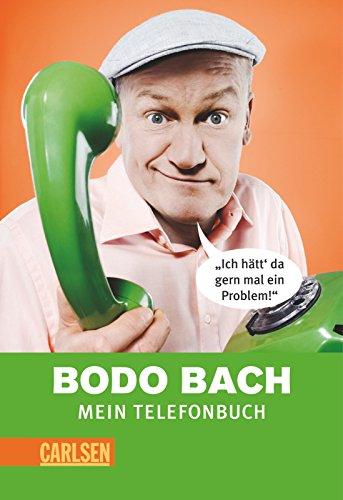 9783551681683: Bodo Bach - Mein Telefonbuch