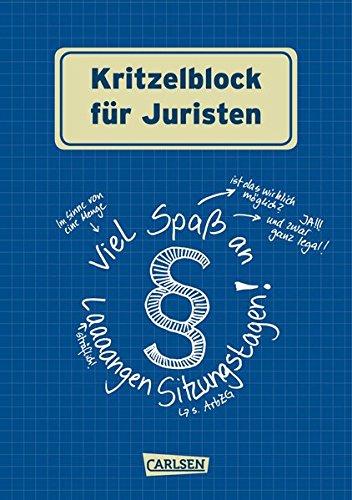 9783551683687: Kritzelblock für Juristen