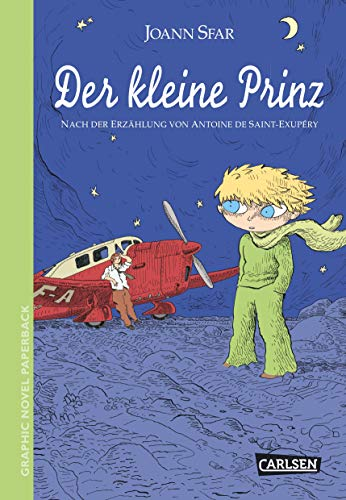 Graphic Novel paperback: Der kleine Prinz: Antoine De Saint-Exupery,