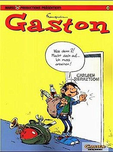 Gaston, Gesammelte Katastrophen, Kt, Bd.18: André Franquin