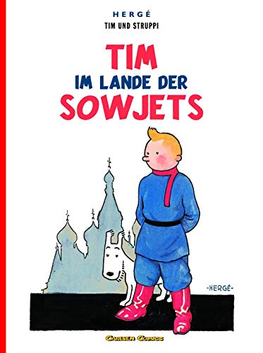 9783551732200: Tim und Struppi. Tim im Lande der Sowjets - Tintin German edition