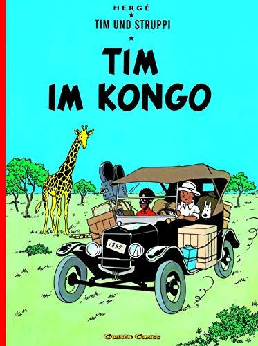 Tim und Struppi 01. Tim im Kongo - Tintin German edition (CARLSEN COPRO) - Herge