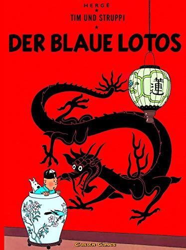 9783551732248: Tim und Struppi 04. Der Blaue Lotos (Carlsen Comics)