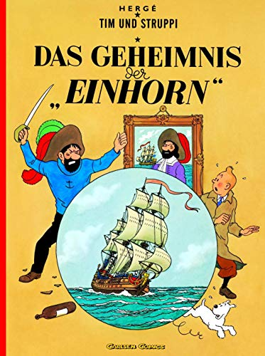 9783551732309: Tim und Struppi - Das Geheimnis Der Einhorne - Tintin German edition