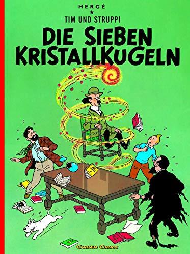 9783551732323: Tim und Struppi - Die Sieben Kristallkugeln - Tintin German edition