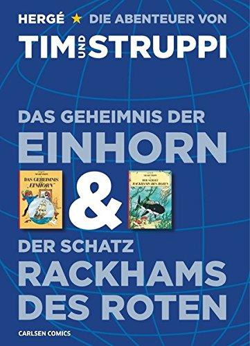 9783551732453: Tim & Struppi: Das Geheimnis der Einhorn und Der Schatz Rackhams des Roten: Doppelband zum Film