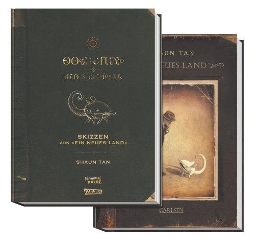 Ein neues Land - erweiterte Ausgabe mit Skizzenbuch im Schuber: Shaun Tan