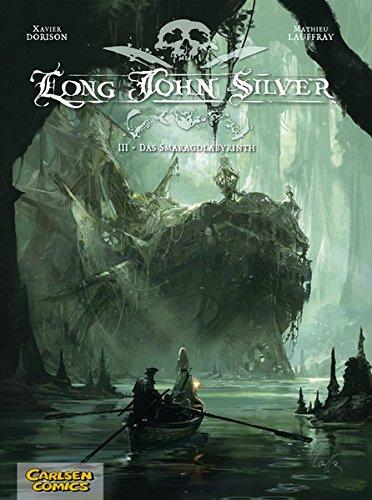 9783551734433: Long John Silver 03: Das Smaragd-Labyrinth