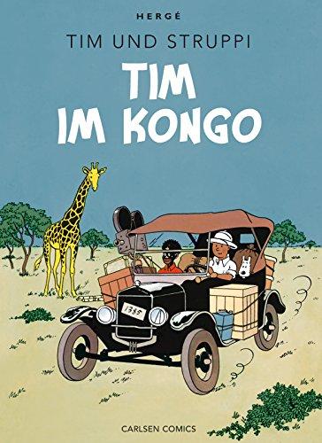 9783551738318: Tim & Struppi Farbfaksimile 01. Tim im Kongo