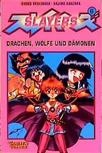 Slayers, Bd.6, Drachen, Wölfe und Dämonen (3551743169) by Shoko Yoshinaka; Hajime Kanzaka