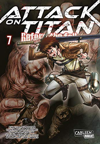 9783551743763: Attack on Titan - Before the Fall 7
