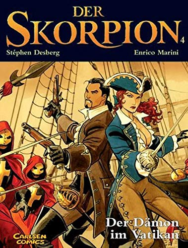 9783551749444: Der Skorpion, Band 4: Der D�mon im Vatikan