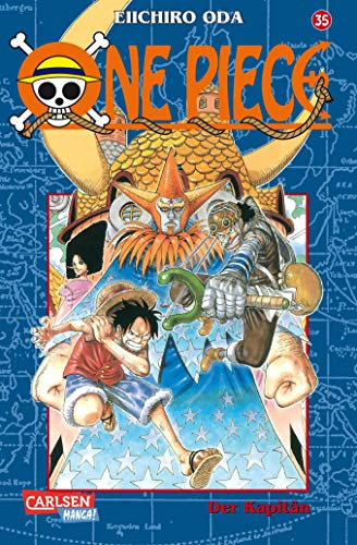 9783551757258: One Piece 35. Der Kapitän