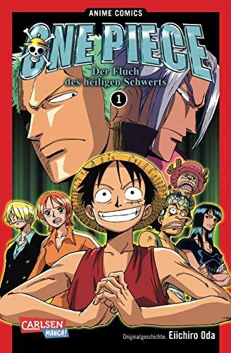 9783551760043: One Piece: Fluch des heiligen Schwerts, Band 1: Anime Comics