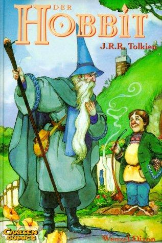 Der Hobbit. Luxusausgabe. (3551761027) by Tolkien, John Ronald Reuel; Dixon, Charles; Wenzel, David