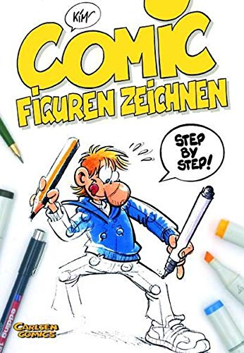 9783551768346: Comic-Figuren zeichnen: Step by Step