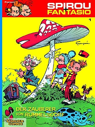 Spirou und Fantasio 01 bis 05, 5 Hefte in erster Auflage privat gebunden in einem Band: Franquin, ...