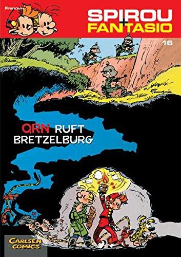 9783551772169: Spirou und Fantasio 16. QRN ruft Bretzelburg