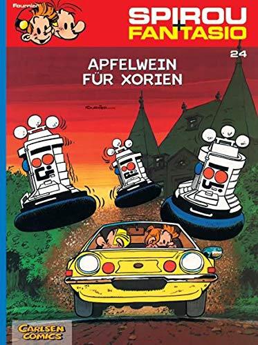 Spirou und Fantasio 24: Apfelwein für Xorien: Jean-Claude Fournier