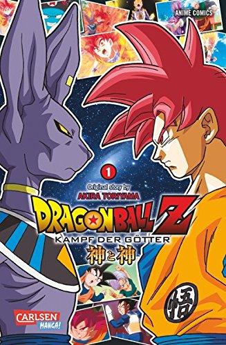 9783551780690: Dragon Ball Z - Kampf der Götter 01