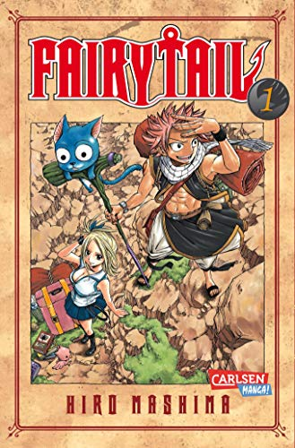 9783551796110: Fairy Tail 01