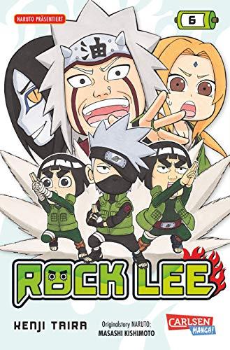 9783551798169: Rock Lee, Band 6
