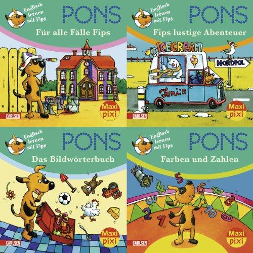9783551906168: Maxi-Pixi Serie 17: PONS Englisch lernen