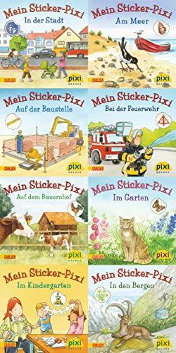 9783551907233: Pixi-Bundle 8er Serie 199. Meine Sticker-Pixis (Pixi-8er-Set)