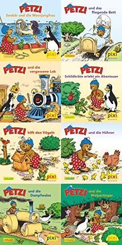 9783551907356: Pixi-Bundle 8er Serie 156. Viel Spa� mit Petzi